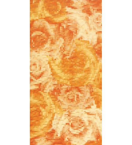 (16410022) Фьюжн декор оранжевый 20*40