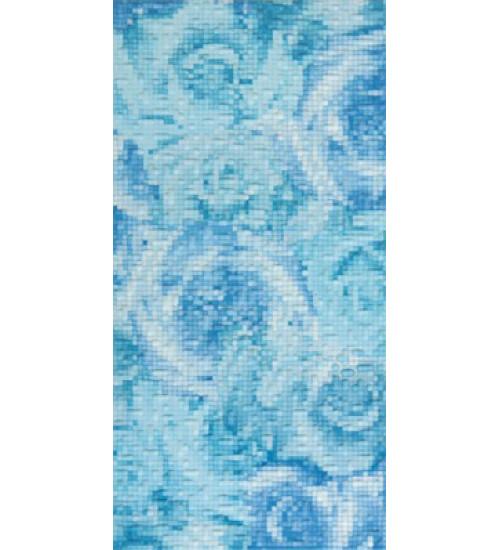 (16410023) Фьюжн декор голубой 20*40
