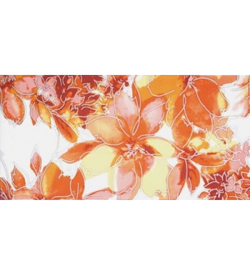 (16410044) Акварель декор 3 оранж 20*40