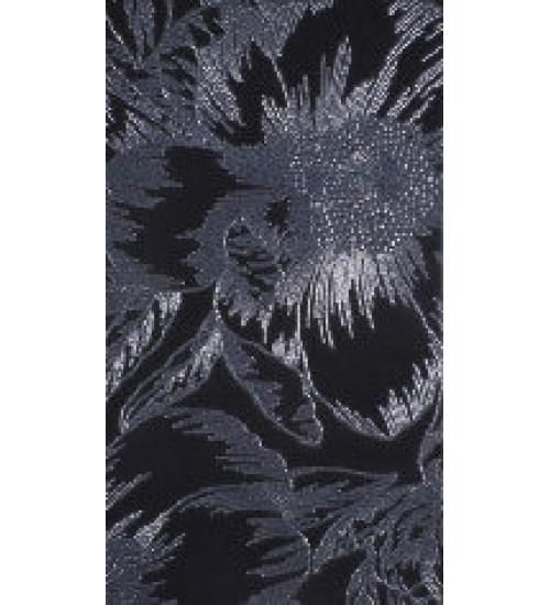 (1645-0070) ГОТЛАНД Орхидея декор черный 25х45