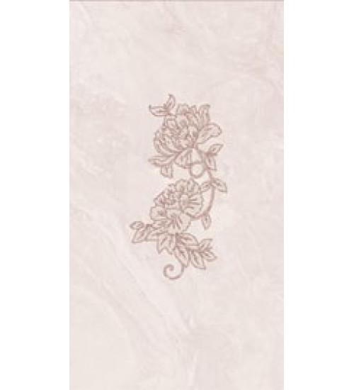(16450037) Оникс Аирис декор розовый 25*45