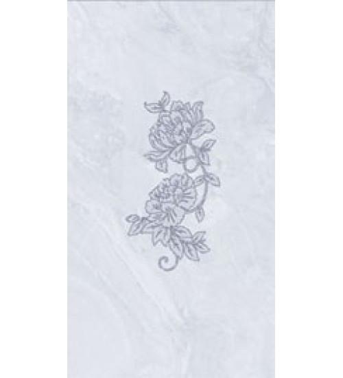 (16450041) Оникс Аирис декор голубой 25*45