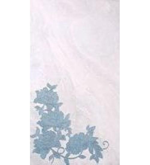(16450042) Оникс Аирис декор голубой 25*45