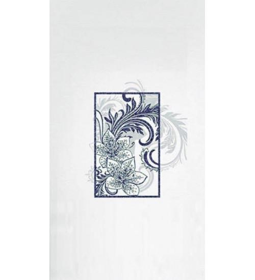 (16450058) Азур Соло декор синий 25х45