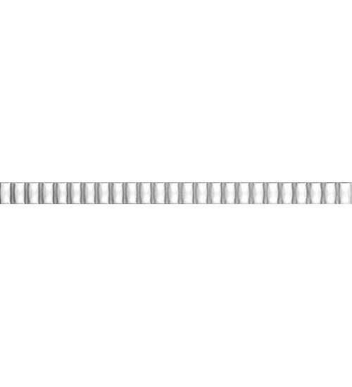 (176) Карандаш 20*1,4 Бисер серебро