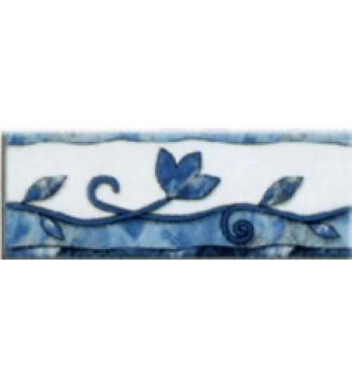 (210811) Квазар Бордюр 20*5,4 синий