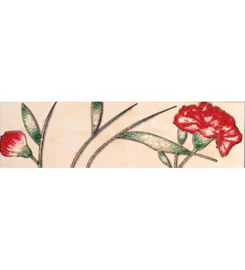 (220444) Ресса Бордюр 20*5,5 розовый