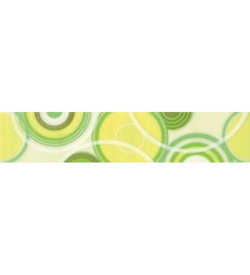 (221122) Ниагара Бордюр 20*4,6 зеленый 2 круги