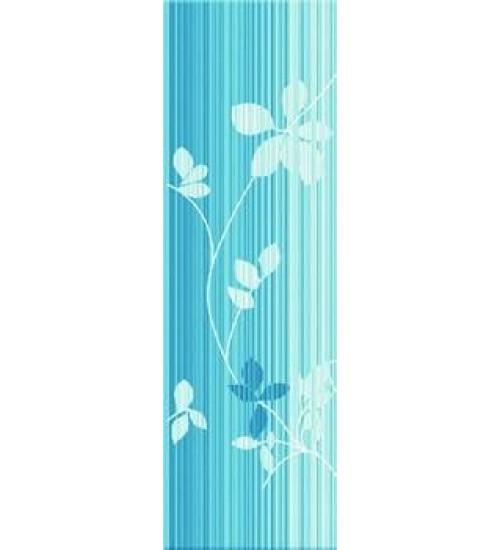 (261811) Флоранс Бордюр40*12 синий(левая половина)
