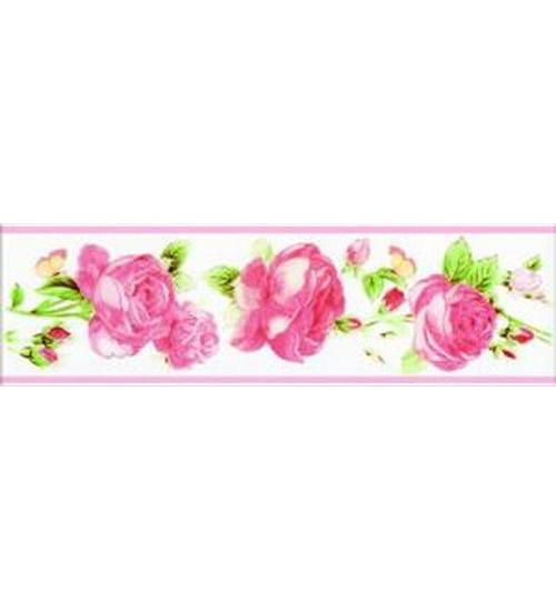 (272341) Капри Бордюр 25*7,5 розовый