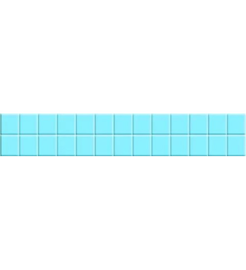 (281912) Корсика (Адриатика) Бордюр 5*33 синий