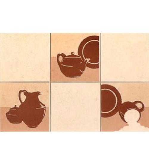 (310165) Арго Декор20*30 терракот 5 (кувшин) кухня