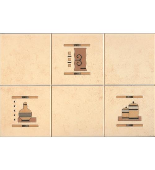 (310264) Арго Декор 20*30 терракот 4 специи кухня
