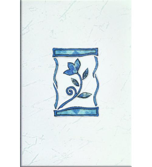 (310811) Квазар Декор 20*30 синий