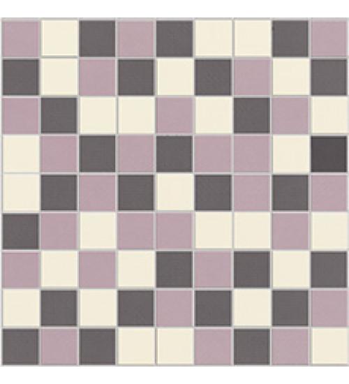 (3132-0051) ГОТЛАНД мозаика серо-бело-сиреневая