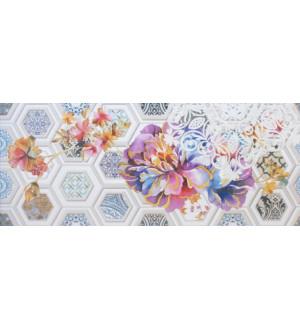 Декор настенный Unicer Glam Gio 2 Blanco 23,5x58