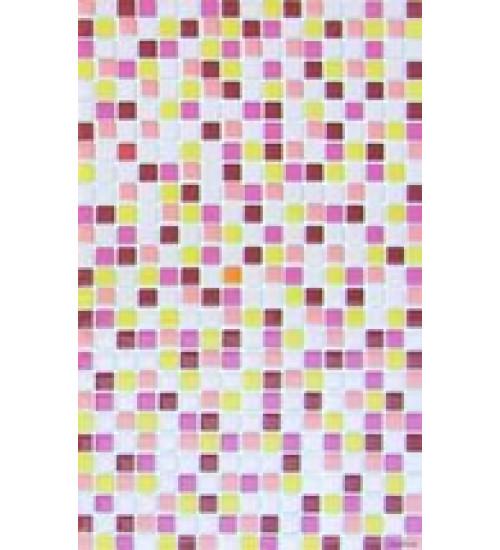 (340041) Моноколор Декор 25*40 мозаика розов