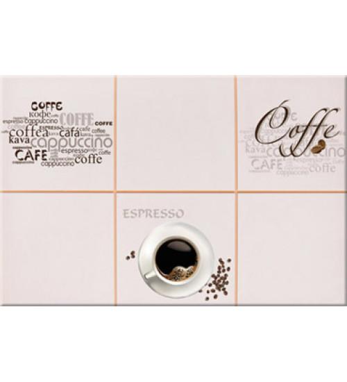 (340062) Моноколор Декор Кофейня 25*40 caffe