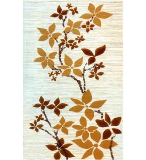 (341662) Гардения Декор 25*40 бежевый цветы