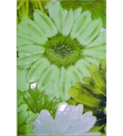 (341721) Парадис Деко25*40зеленый(ромашка зеленая)