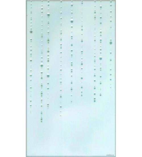 (342012) Бриз Декор25*40 голубой 2 капли половинки