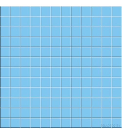 (721912) Корсика  Адриатика  Декор 33*33 голубой напольный