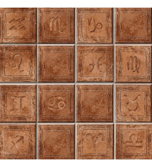 (36030083) Персей декор коричневый 33,3*33,3