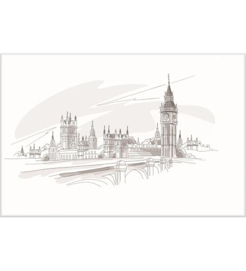 (371508/3) Моноколор Декор 25*40 Лондон