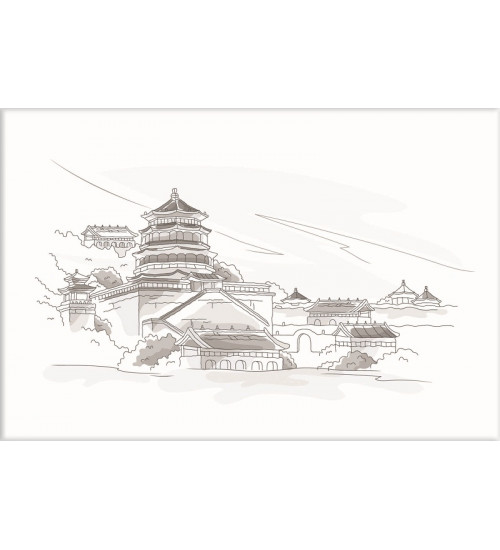 (371508/5) Моноколор Декор 25*40 Пекин