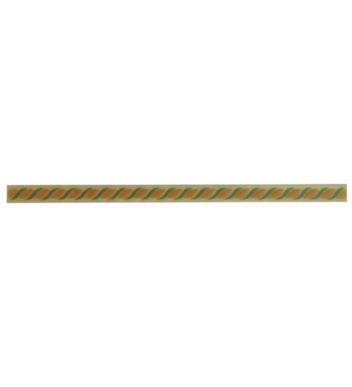 (400832) Квазар Бордюр 20*1,2 желтый 2