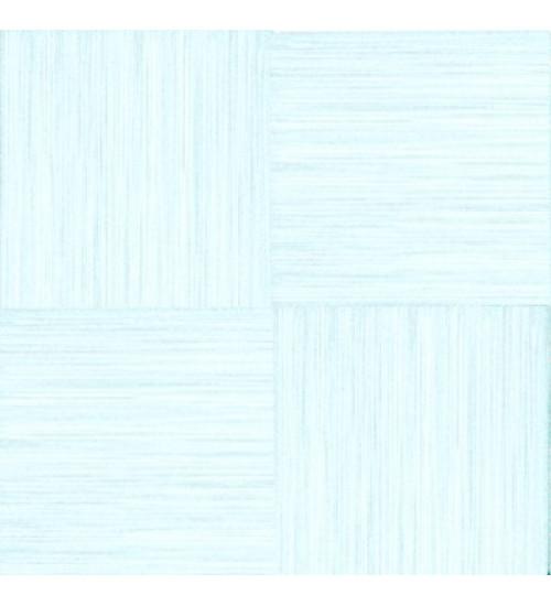 (720012) Моноколор КГ 33*33 голубой глазур