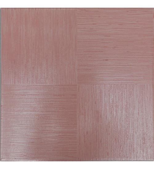 (720041) Моноколор КГ 33*33 розовый глазур