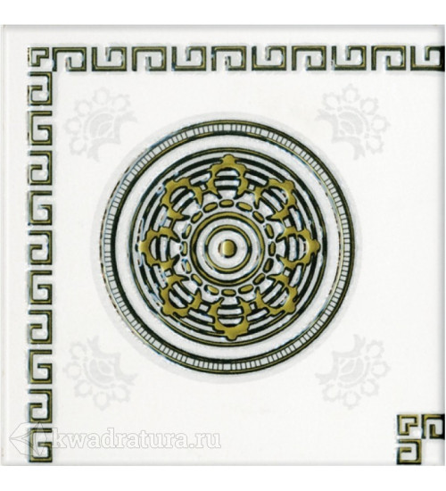 (742501) Цезарь декор 15,2*15,2 серый