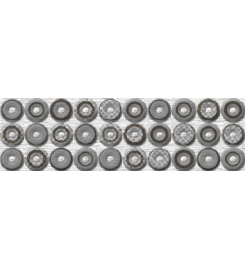 (75023138) Шелк серый 250*80 бордюр