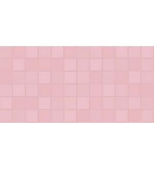 1041-0156 Настенная плитка  Unica GT  19,8*39,8 розовая