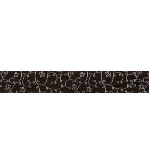 Бордюр Зебрано Браз Классик O-ZEB-WBL111 7*45 коричневый