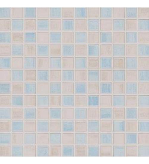 (GDM02054) Электра мозаика многоцв. голуб 30*30