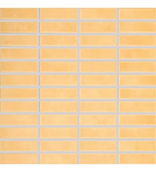 (GDMAJ007) Тюльпан мозаика оранж 2,3*7,3 (30*30)