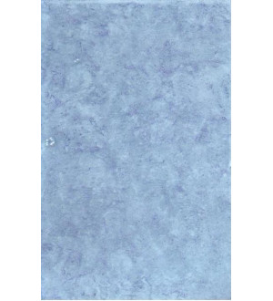 ВКЗ Магнолия Плитка настенная 200х300х7мм синяя, серия Люкс