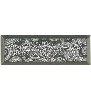 Decor Ornamental Silver Blanco 10*30