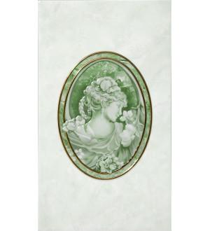Декор Pietra 23*40 зел (20011)