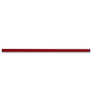 Бордюр стеклянный  UG1U411  3*75 красный
