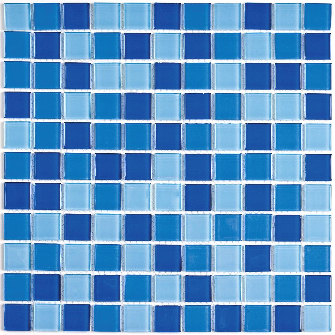 Ceramic glass tile